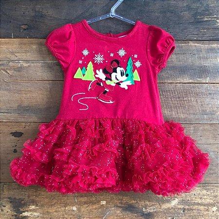 Vestido Disney - 3 a 6 Meses