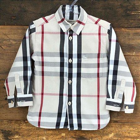 Camisa Burberry - 2 anos
