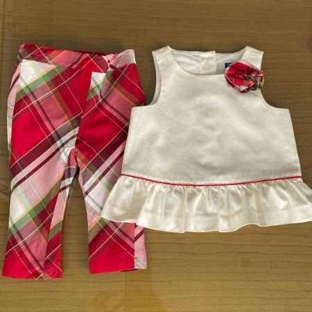 Conjunto Janie And Jack - 6 a 12 meses