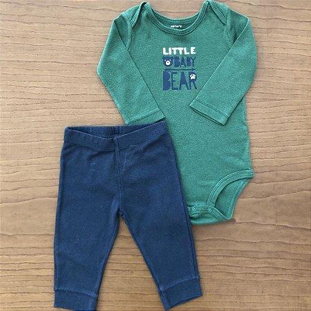 Conjunto Carter's - 6 meses