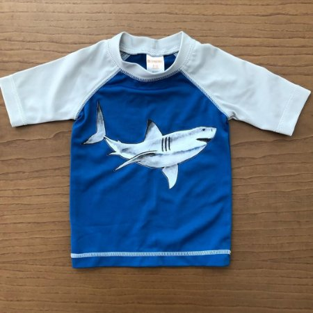 Camiseta de piscina Gymboree - 6 a 12 meses