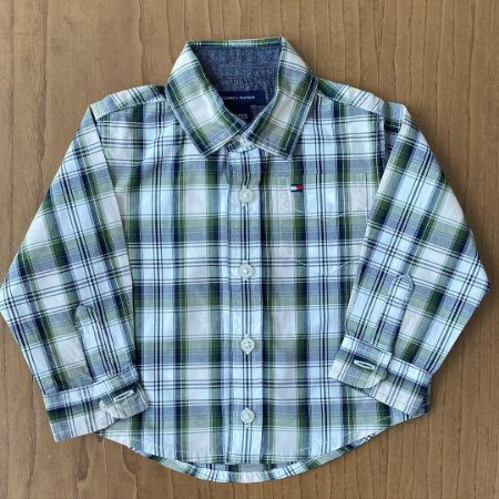Camisa Tommy Hilfiger - 3 a 6 meses