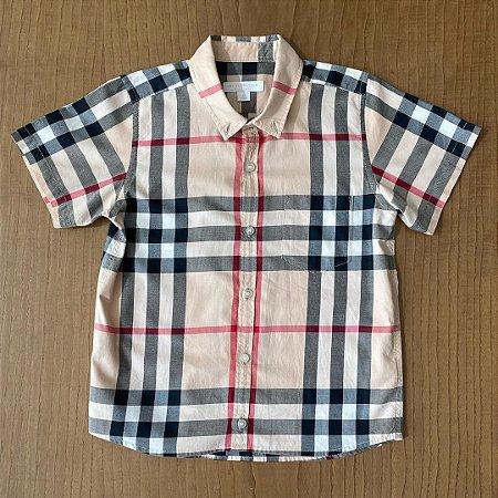 Camisa Burberry - 8 anos