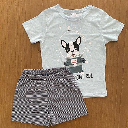 Pijama BY GUS - 2 anos - 3 anos - 4 anos - 6 anos e 8 anos