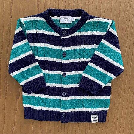 Suéter Noruega - 12 a 18 meses