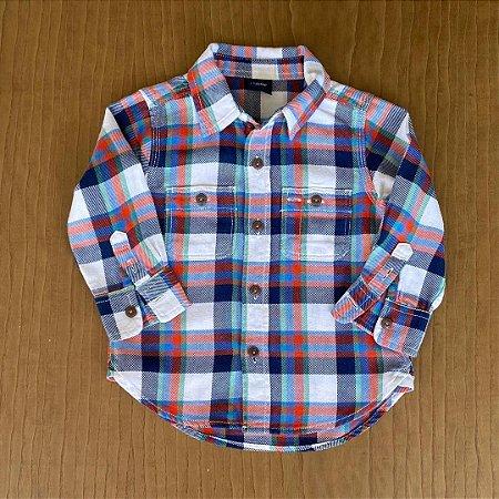 Camisa GAP - 12 a 18 meses
