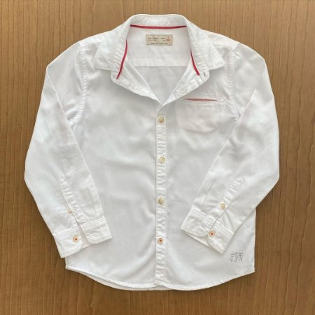 Camisa Zara - 7 anos