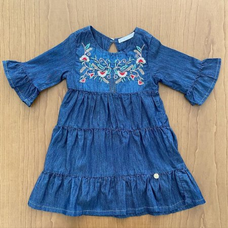 Vestido Seminovo - 3 anos