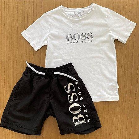 Conjunto Hugo Boss - 6 anos