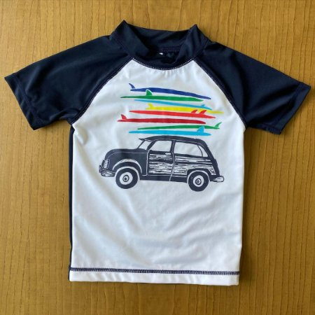 Camiseta de Piscina Gymboree - 4 anos