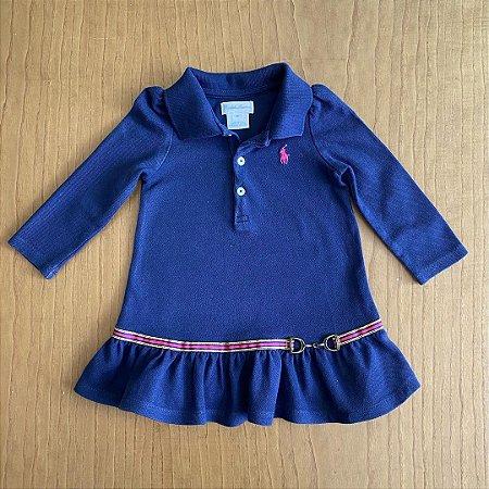 Vestido Ralph Lauren - 9 meses