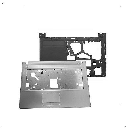 Kit Carcaça Inferior + Superior Lenovo G40-70 G40-80 Z40-70