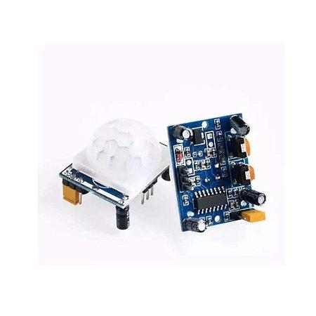 Sensor De Presença Movimento Pir Sensor hc-sr501