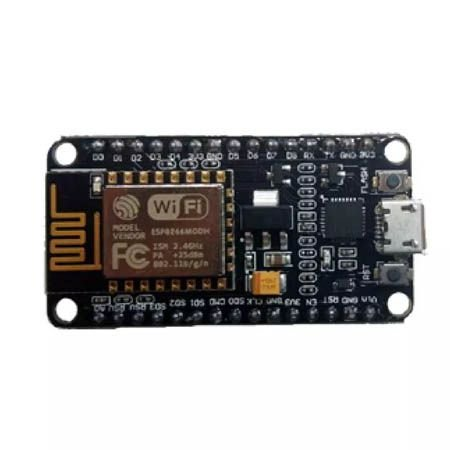 Placa Iot Micro Usb Wifi Wireless Esp8266 Nodemcu Cp2102