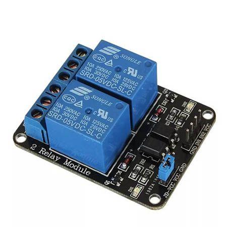 Modulo Rele 2 Canais 5 Volts Arduino