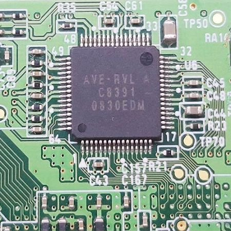 Chip Decodificador Audio Video Ave-rlv C8391 Nintendo Wii