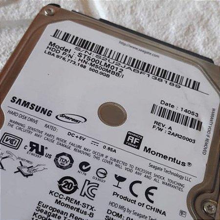 HD INTERNO 500GB Samsung Momentus St500lm012 Hn-m500mbb/se2