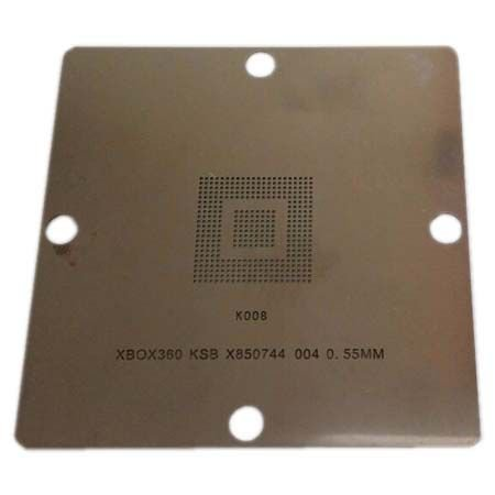 Stencil Xbox360 Ksb X850744 004 0.55mm Base 80x80mm