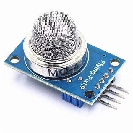Mq4 Sensor De Gás Butano Metano Glp Álcool Fumaça Detector