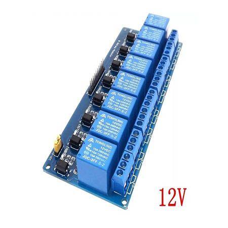 Módulo Relé 8 Canais 12v Relay Module Pic/arduíno