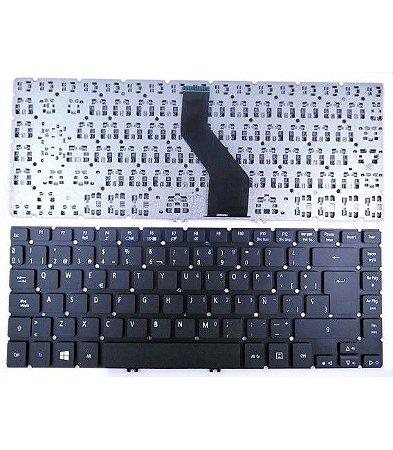 Teclado Acer Aspire V5-471-6620 V5-471-9_br647 Abnt2 Com Ç