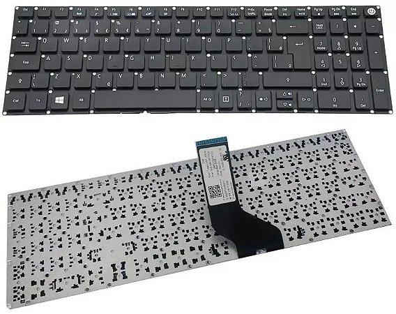 Teclado P/ Acer Aspire E15 E 15 Es1-572 Es1-572-37pz Com Ç