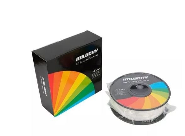 FILAMENTO PLA IMPRESSORA 3D 1KG 1.75MM PREMIUM BRANCO