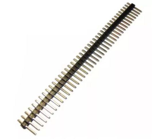 BARRA COM 40 PINOS - PIN HEAD - 5 UNIDADES