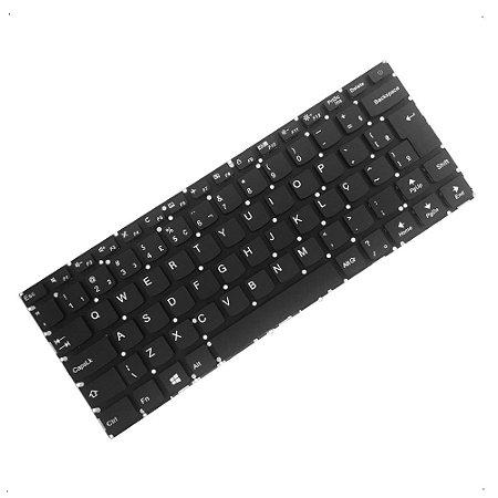 Teclado para Notebook Lenovo Ideapad 310-14ISK PK131191A28