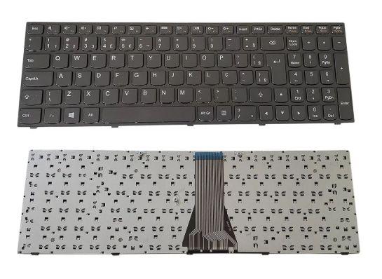 Teclado Para Notebook Lenovo G50-80 G50-70 B50-30 Br Com Ç