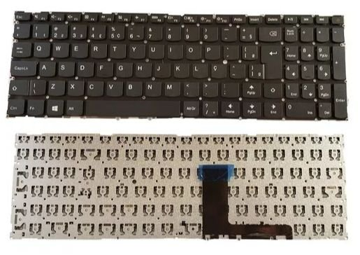 Teclado Para Notebook Lenovo Ideapad 110-15ibr Novo