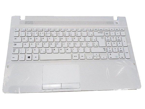 Teclado Notebook Samsung Np270e5e-kd1br Ba75-04641p Branco