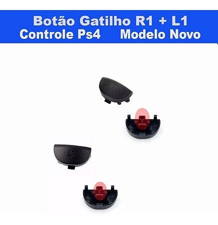 Botão Gatilho  L1 +  R1  Ps4 -modelo Novo -jds 040 - Jdm 040
