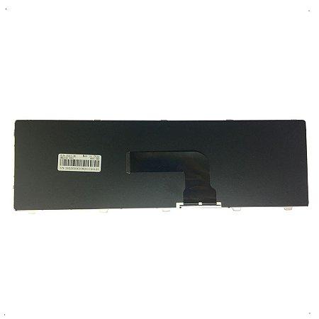 Teclado Para Notebook Dell Latitude 3540 Br Com Ç Preto- Dell Inspiron 15r 5537 - Preto Br