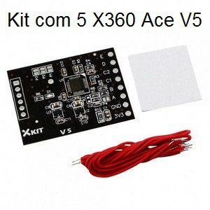 Kit com 5 Peças X360 Ace V5 - X360ace V5 - Novo