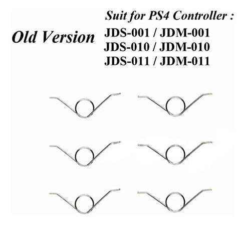 10x Mola L2 R2 Controle Ps3 Ps4 Jds001 Jsd 010 Jds 011