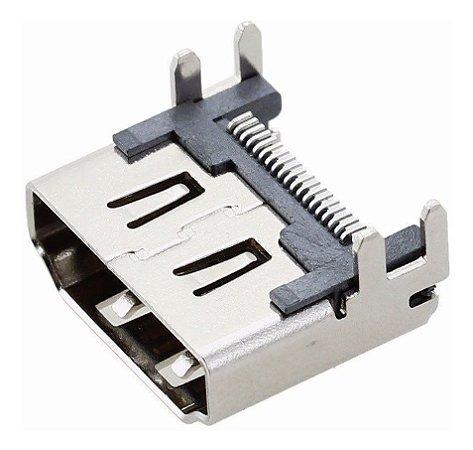 2 Peças Do Conector   Hdmi Ps4 Slim E Pro Original