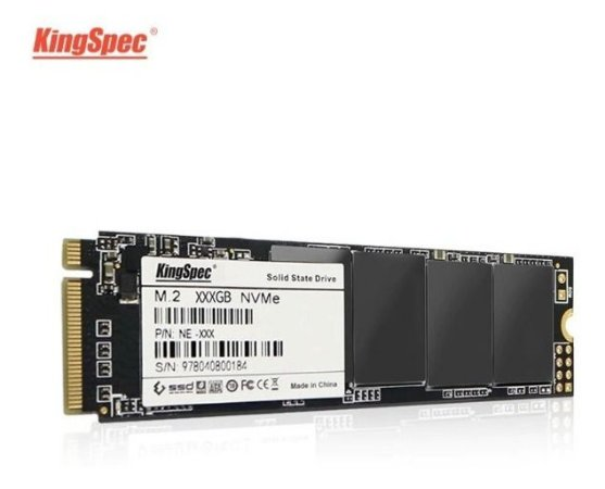 Ssd Nvme 1.3 512gb Kingspec M.2 Pcie 3.0 X4 Vnand 2200 Mb/s