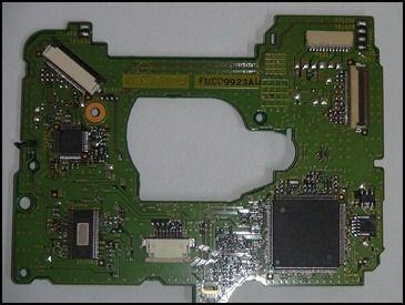 Placa Controladora Do Drive Wii D32