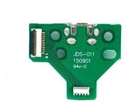 Kit Placa  Usb Ps4 Jds011 + Película Placa Condutiva Jdm011