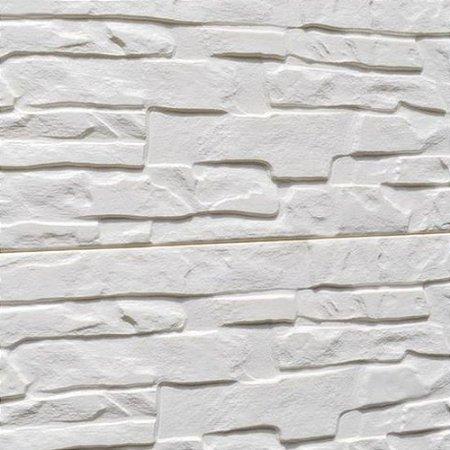 Kit 6x Painel Placa 3d Tijolo Branco Espuma Adesiva 60 X 60