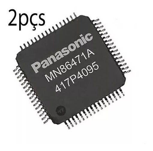 Kit  com 2 Ci  Mn86471a Panasonic Original - Hdmi Ps4