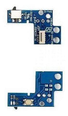 Kit 1x Botão Power  Slim Ps2 900xx + 1x 70xxx A 75xxx