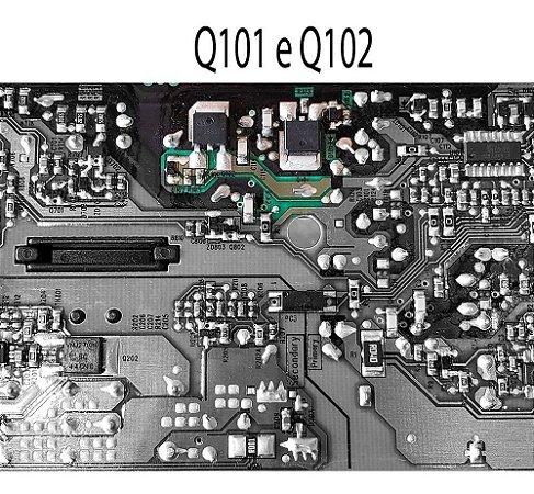 2x Mosfet 6r380p6 - 60s650ce Fonte Q101 Q102 N15-160p1a