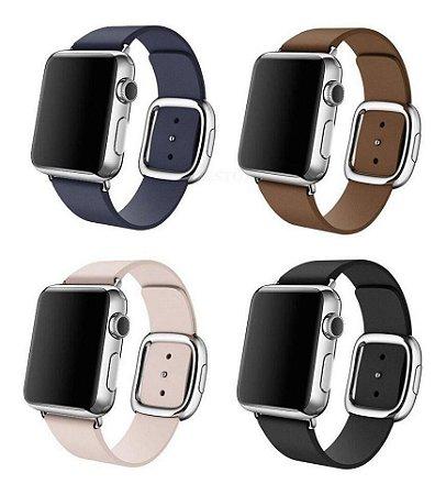 Pulseira Fecho Moderno Para Apple Watch 38 40mm 42mm 44mm
