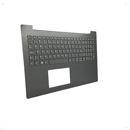 Teclado Lenovo Ideapad 320-15isk Cinza Escuro Sem Touchpad