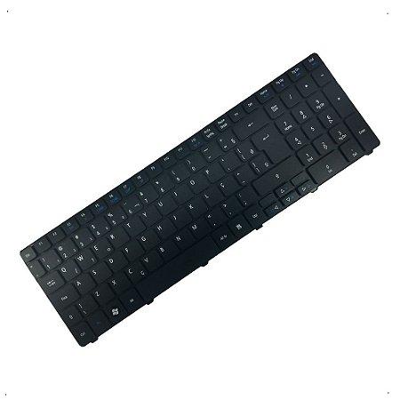 Kit 4x Teclado para Notebook Acer Aspire 5250 5536 5741 5742 5551 5750