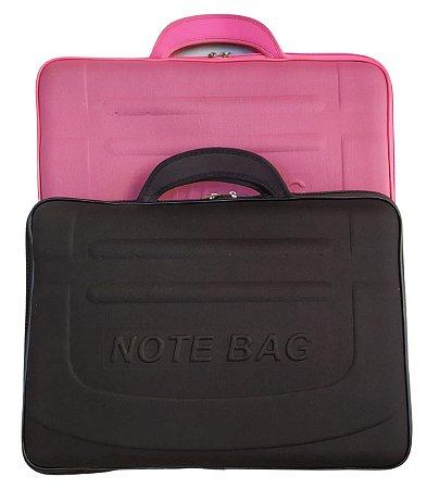 Kit Case para Notebook 15,6 Rosa + Case para Notebook 15,6 Preto