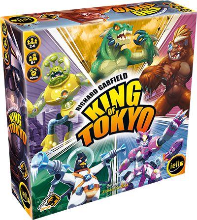 King of Tokyo (2ª edição ) (VENDA ANTECIPADA)