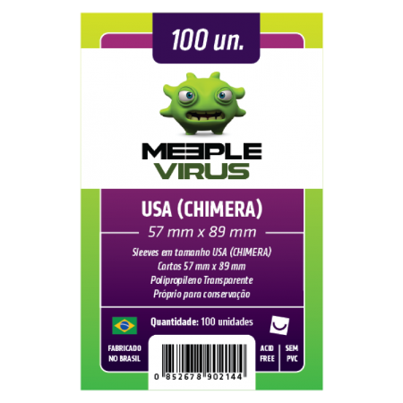Meeple Vírus - USA CHIMERA 57 X 89 MM